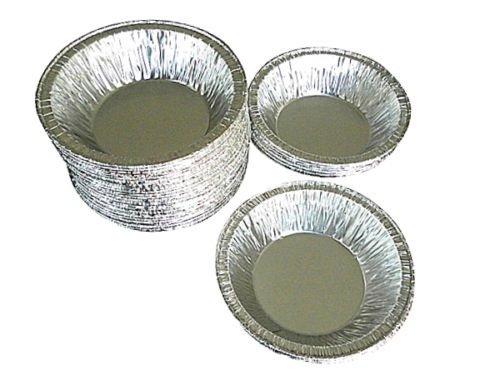 Wilkinson A90 3 38 Aluminum Foil Tart Pan 50 Pk - Disposable Mini-pie Tin Plate