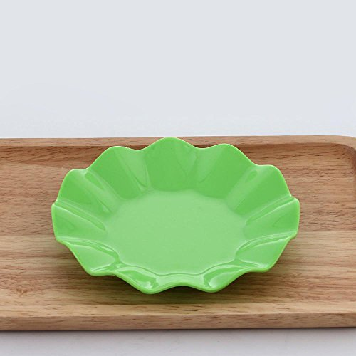 Daeou Color imitation melamine tableware melamine plate snack plates dish plate lace disc package a set of two