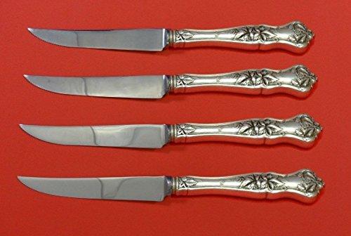 Edgewood by International Sterling Silver Steak Knife Set 4pc HHWS Custom