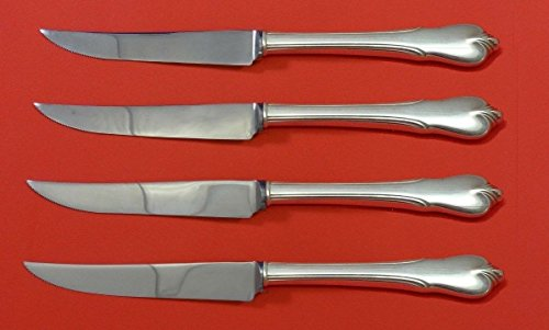 Grand Colonial by Wallace Sterling Silver Steak Knife Set 4pc HHWS Custom