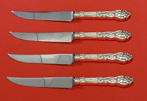 Versailles by Gorham Sterling Silver Steak Knife Set 4pc HHWS Custom 8 12