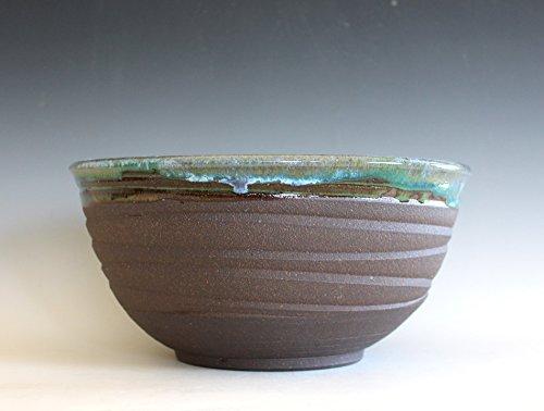 975 Handmade Ceramic Bowl pottery bowl wheel thrown bowl stoneware bowl ceramic serving bowl