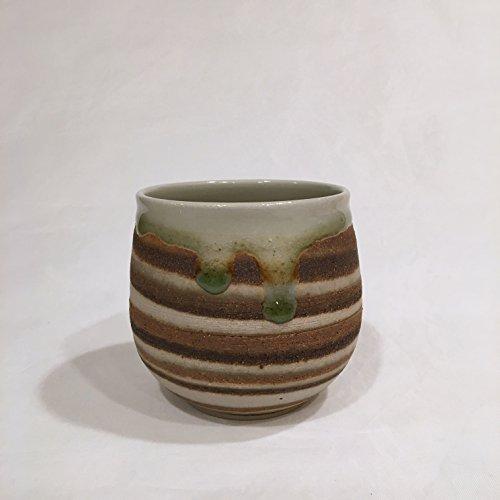 Multi Color ClayTea Bowl Handmade Ceramic Bowl 12 oz MCCTB12