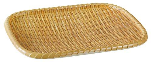 Yanco WD-408 Rectangular Wooden Tray 85 Length 65 Width Melamine Pack of 36