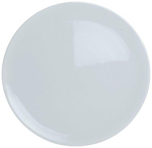 Yanco PP-214 Pizza Plate Flat 14 Diameter Porcelain Super White Pack of 12