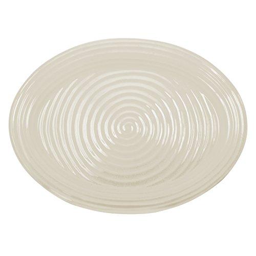 Portmeirion Sophie Conran Pebble Oval Platter Large