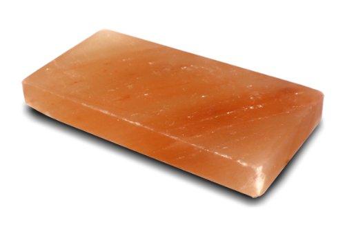 New Nature Organic Pure Pink Himalayan Salt Brick Plate Block Slab - 12x8x15