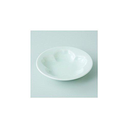 Japanese porcelain Hasami ware Set of 5 white cherry blossom plates J26-61367
