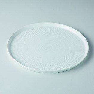 Japanese porcelain Hasami ware hakuji kanna 26cm plate hsm-J06-13625