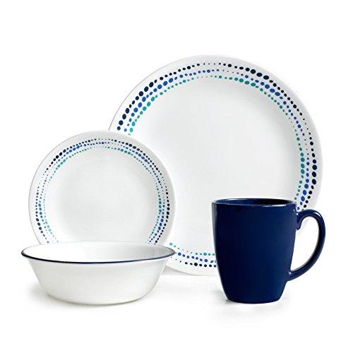 Corelle Livingware Ocean Blues 16-pc Dinnerware Set