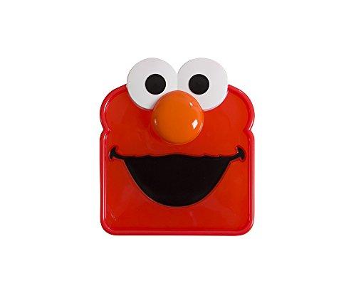 Sesame Street Sandwich Savr Elmo Sandwich Box for Kids Lunch Snacks To-Go Snack Storage Container