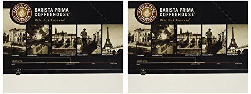 Barista Prima Coffeehouse Coffee Keurig K-Cups Italian Roast Dark Roast 48 Count