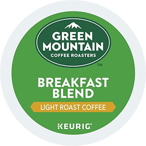 Green Mountain Coffee Roasters Breakfast Blend Single-Serve Keurig K-Cup Pods Light Roast Coffee 12 Count pack of 6