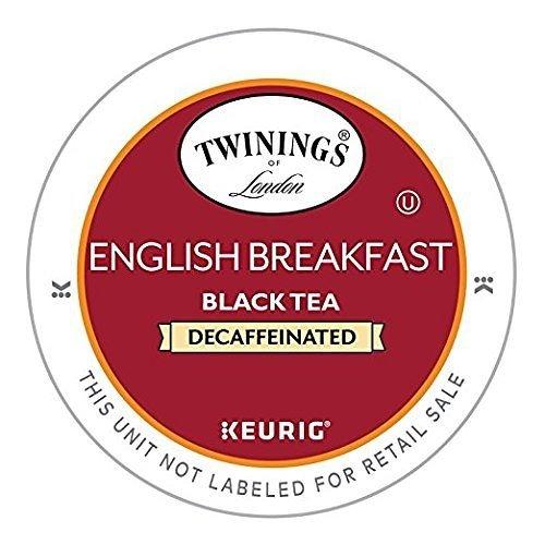 Twinings English Breakfast Decaf Tea Keurig K-Cups 48 Count