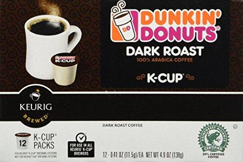 Dunkin Donuts K-cups Dark Roast - 72 K-cups
