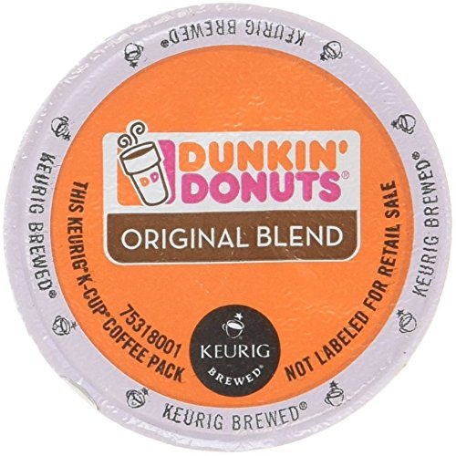 Dunkin Donuts Original Flavor Coffee K-Cups For Keurig K Cup Brewers 96 Count