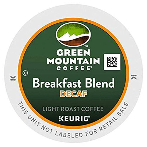 Green Mountain Breakfast Blend Decaf Single Serve Coffee K-Cups 48-Count For Brewers