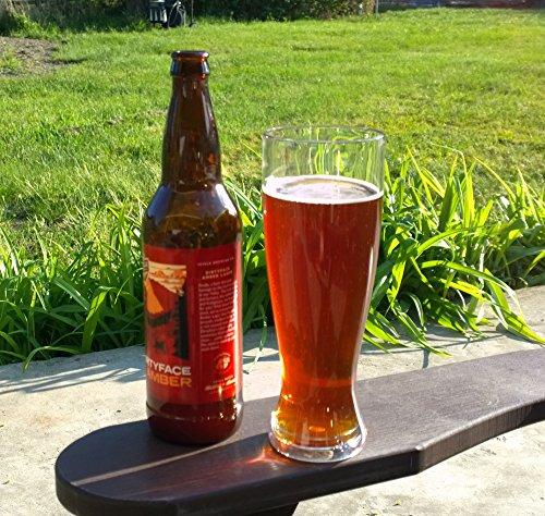 WineTanium Unbreakable Pilsner 24 oz Beer Glasses - 100 Tritan - Shatterproof Reusable Dishwasher Safe - Set of 4