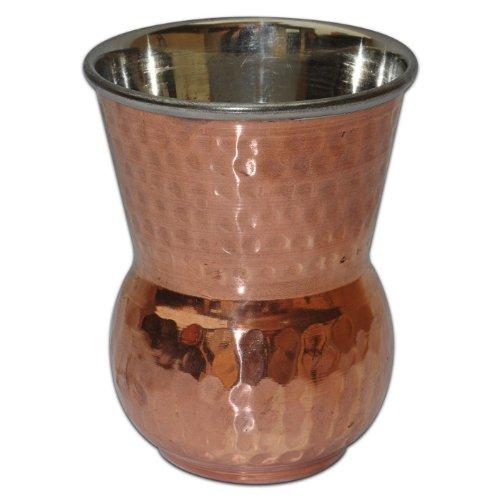 Copper Tumbler Glasses Drinkware Asian Kitchen Accessory