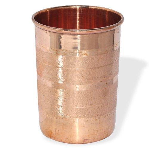 Pure Copper Tumbler Glasses for Ayurveda Healing