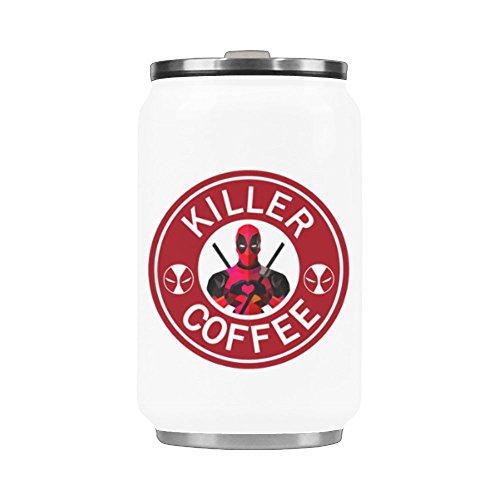 103 Ounces Coffee Travel Mug Killer Coffee Water Bottle Stainless Steel Tea Cup