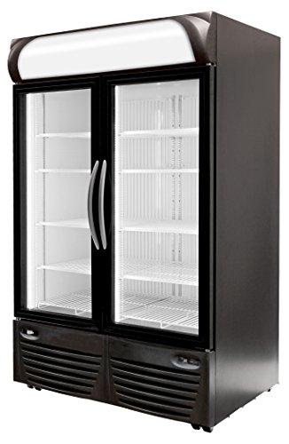 Minus Forty Technologies 43-UDGF-X1 Double Glass Door Upright Freezer Merchandiser