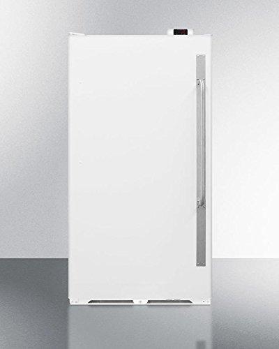 Summit SCUF18NCLHD Upright Freezer White