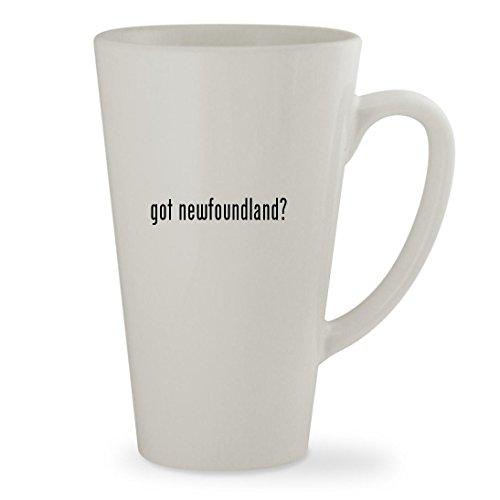 got newfoundland - 17oz White Sturdy Ceramic Latte Cup Mug