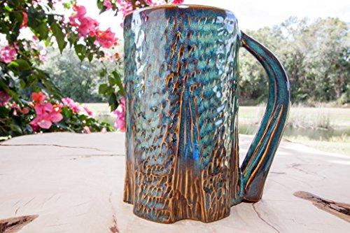 Tree Mug Handmade Coffee Pottery Mug