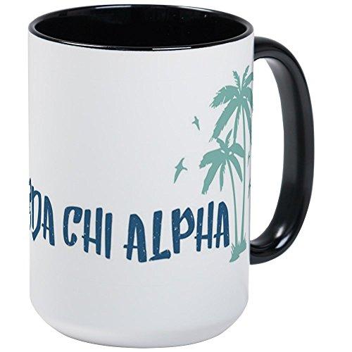 CafePress - Lambda Chi Alpha Beach - Coffee Mug Large 15 oz White Coffee Cup