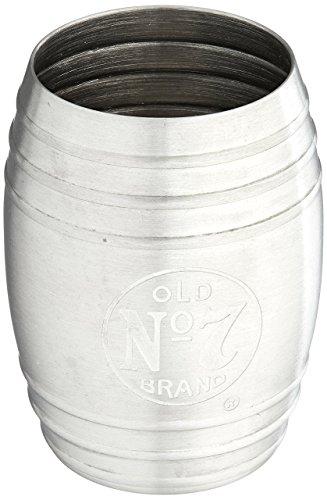 Jack Daniels Barrel Stainless Steel Shot Glass Bug Logo