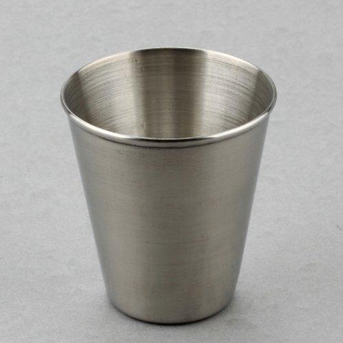 Ostart 70ml Portable Stainless Steel Shot Glasses Barware Wine Drinking Glass Cup