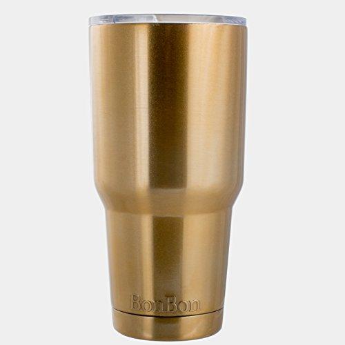 BonBon 30oz Travel Mug Vacuum Insulated Cup Gold