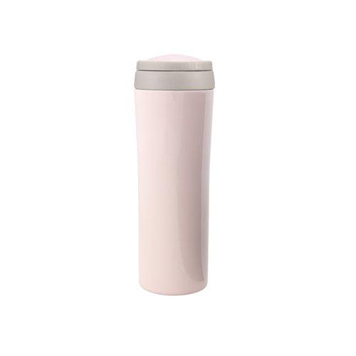 Timolino VMB-25TGPP 86-Ounce Vacuum Metro Mug Tall with Infuser Pastel Pink