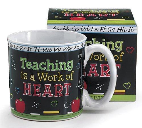 Teaching Is A Work Of Heart Teachers Coffee Mug With Gift Box
