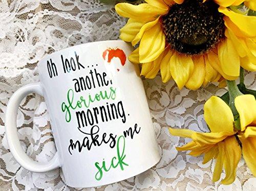 Hocus Pocus Inspired Printed Mug - Another Glorious Morning Makes Me Sick Mug - Custom Funny Halloween Mug - Sarcastic Funny Mug - Fall Mug