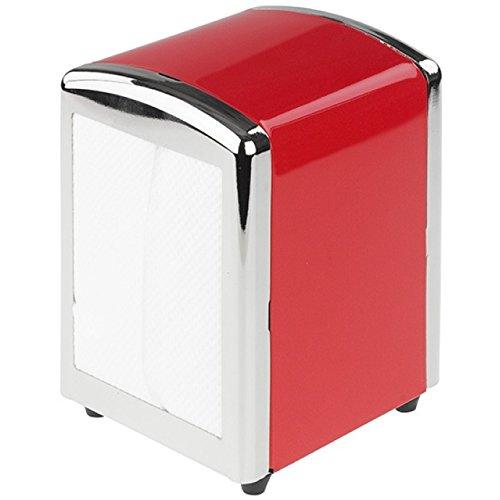 Tala 10B10744 Napkin Dispenser With 50 Napkins Red