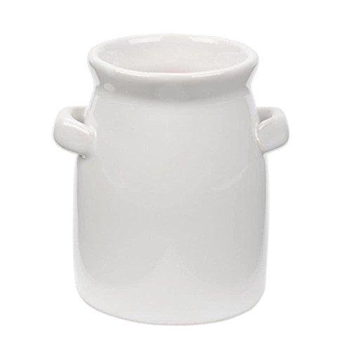 TableTop King CMP3 4 oz Tall Mini Ceramic Milk Jug - 6Pack