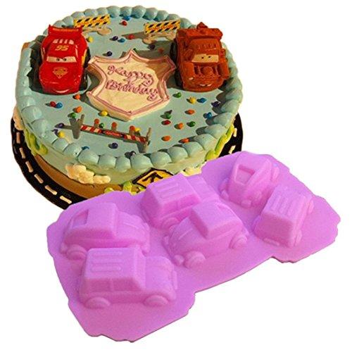 VWH Car Silicone Fondant Mold Cake Jelly Molds Kitchen Baking Tool Chocolate Mould Cake Baking Decorating Kits
