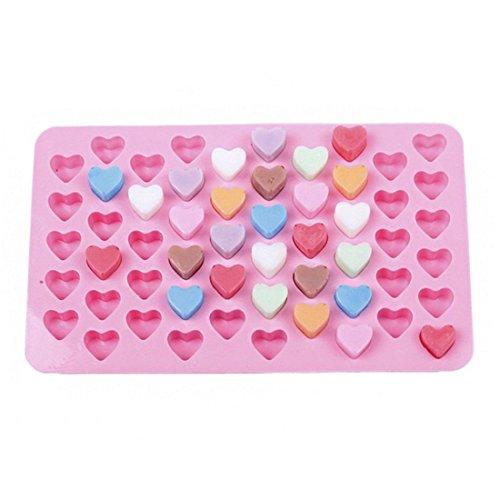 VWH Heart Silicone Fondant Mold Cake Jelly Molds Kitchen Baking Tool Chocolate Mould Cake Baking Decorating Kits