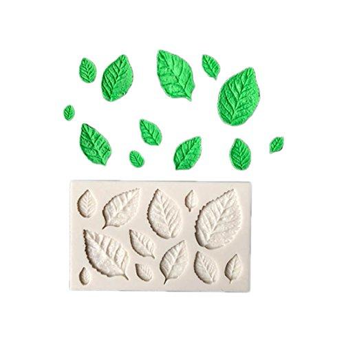 VWH Leaf Silicone Fondant Mold Cake Jelly Molds Kitchen Baking Tool Chocolate Mould Cake Baking Decorating Kits