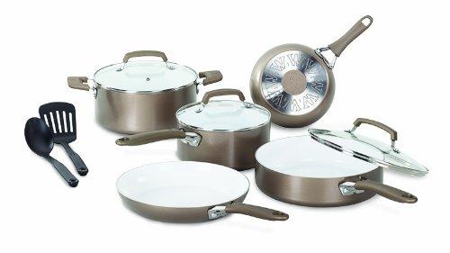 Wearever C944sa Pure Living Nonstick Ceramic Coating Ptfe-pfoa-cadmium Free Dishwasher Safe Oven Safe Cookware