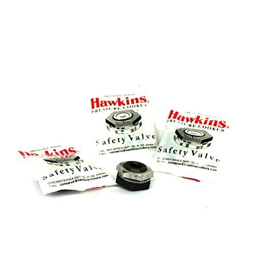 Hawkins B1010 3-Piece Pressure Cooker Safety Valve 15 to 14-Liter