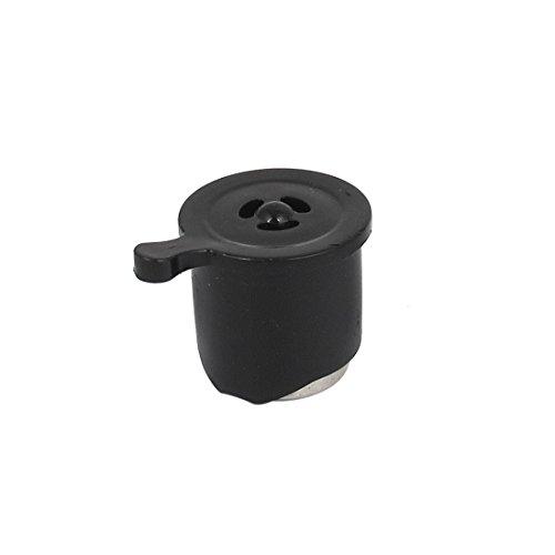 Kitchen Electric Pressure Cooker Safety Valve 10mm Inner Dia Black