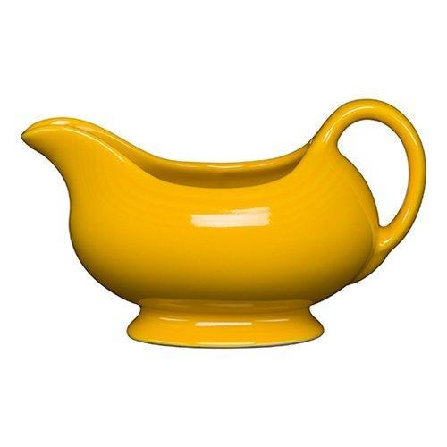 Homer Laughlin 486-342 18-12 Oz Sauce Boat Daffodil