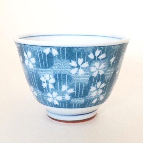 Japanese Minoyaki porcelain Teacup set of 2
