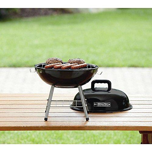 Black Bbq-pro 14 Tatbletop Grill