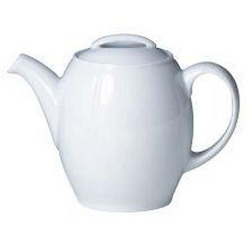 Denby White Teapot