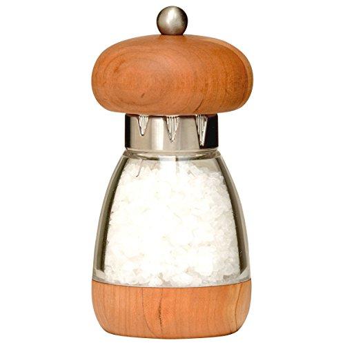 William Bounds 00124 Mushroom Mill - Salt Grinder - American Cherry Wood and Acrylic