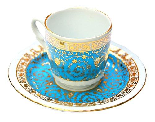 Turkish Porcelain Coffee Cup 7